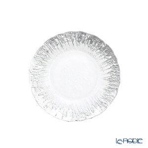 【ポイント10倍】Vetro Felice ヴェトロ フェリーチェ フラッシュ プレート 15cm クリア&シルバー 349115P ガラス おしゃれ 皿 お皿 食器 ブランド 結婚祝い 内祝い