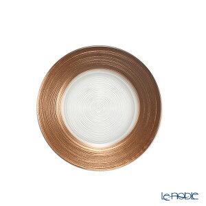 【ポイント10倍】Vetro Felice ヴェトロ フェリーチェ サークル プレート 15cm ブラウン 32915J ガラス おしゃれ 皿 お皿 食器 ブランド 結婚祝い 内祝い