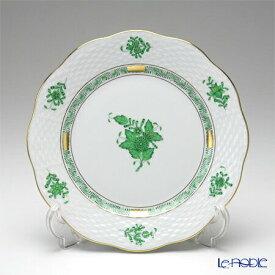 ヘレンド(HEREND) アポニーグリーン 00517-0-00/517 プレート 19cm 皿 お皿 食器 ブランド 結婚祝い 内祝い
