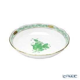 ヘレンド(HEREND) アポニーグリーン 00704-1-00 フルーツボウル 13.5cm プレート 皿 お皿 食器 ブランド 結婚祝い 内祝い