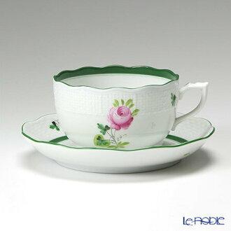 (HEREND) 海伦德维也纳玫瑰 00724-0-00 / 724 茶杯与碟 200 cc