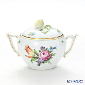 ヘレンド(HEREND) チューリップの花束 BT-2 00472-0-09/666 シュガーポット(ローズ) 200cc チューリップの花束(BT) 食器 ブランド 結婚祝い 内祝い