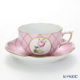 ヘレンド(HEREND) メモリアルローズ VRH-MFP 20724-0-00 ティーカップ&ソーサー 200cc おしゃれ かわいい 食器 ブランド 結婚祝い 内祝い