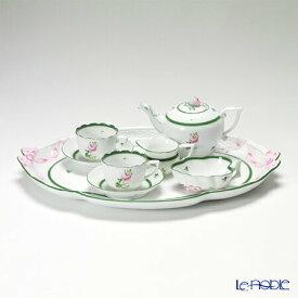 【ポイント14倍】ヘレンド(HEREND) ウィーンのバラ テテアテテセット(モカカップ&ソーサー) VRH 食器セット お祝い 結婚祝い ブランド 内祝い