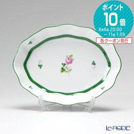 ヘレンド(HEREND) ウィーンのバラ 00213-0-00 ファンシーディッシュ 19.5cm VRH プレート 皿 お皿 食器 ブランド 結婚祝い 内祝い