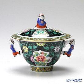 ヘレンド(HEREND) シノワズリ(中国趣味) 西安の黒 SN 03355-0-21/3355 シュガーポット 100cc(マンダリン) 食器 ブランド 結婚祝い 内祝い