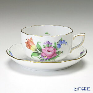 ヘレンド(HEREND) チューリップの花束 BT-1 00724-0-00/724 ティーカップ&ソーサー 200cc チューリップの花束(BT) おしゃれ かわいい 食器 ブランド 結婚祝い 内祝い