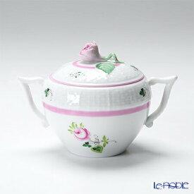 ヘレンド(HEREND) ウィーンのバラ ピンク 00472-0-09 シュガーポット(ローズ) 200cc 食器 ブランド 結婚祝い 内祝い