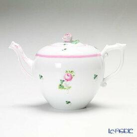 【ポイント10倍】ヘレンド(HEREND) ウィーンのバラ ピンク 00606-6-09 ティーポット(ローズ) 800cc 食器 ブランド 結婚祝い 内祝い
