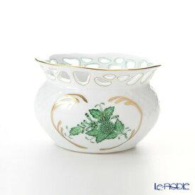ヘレンド(HEREND) アポニーグリーン 06526-0-00 ベース(透かし) 6.5cm 花瓶 フラワーベース おしゃれ ギフト