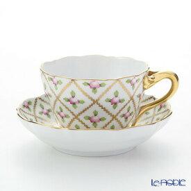 【ポイント14倍】ヘレンド(HEREND) セーブル風の薔薇 SPROG 04094-0-00 ティーカップ&ソーサー おしゃれ かわいい 食器 ブランド 結婚祝い 内祝い