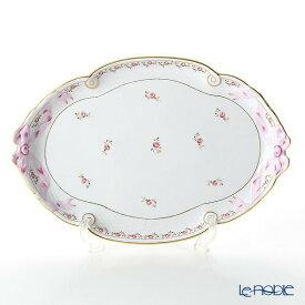 【ポイント10倍】ヘレンド(HEREND) 薔薇の花飾り RGS 00400-0-00 パーティートレイ 38cm プレート 皿 お皿 食器 ブランド 結婚祝い 内祝い