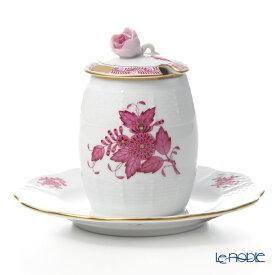 【ポイント10倍】ヘレンド(HEREND) アポニーピンク 00242-7-00 マスタードポット(ローズ) 食器 ブランド 結婚祝い 内祝い