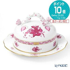 【ポイント14倍】ヘレンド(HEREND) アポニーピンク 00390-0-02 バターケース(コエダ) 深皿 カレー パスタ プレート お皿 食器 ブランド 結婚祝い 内祝い