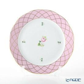 【ポイント10倍】ヘレンド(HEREND) メモリアルローズ VRH-MFP 20524-0-00 プレート 25cm 皿 お皿 食器 ブランド 結婚祝い 内祝い