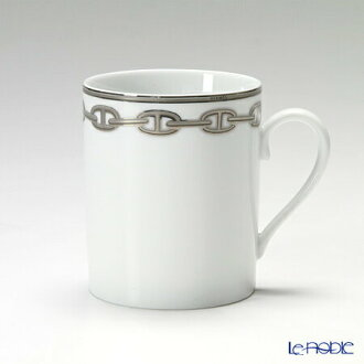Hermes (HERMES) Chêne dangle Platinum mug 300 ml