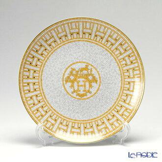 Hermes (HERMES) mosaic van Castle dessert plate 21 cm
