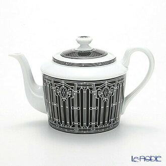 Hermes (HERMES) H Deco ash Deco teapot 6 Cup-850 ml