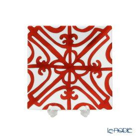 エルメス (HERMES) ガダルキヴィール プチカレ(プレート) 11×11cm No.2 皿 お皿 食器 ブランド 結婚祝い 内祝い