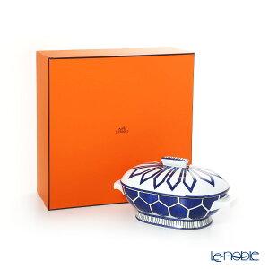 エルメス (HERMES) ブルー ダイユール スープチューリン 1700ml 030029P ブルー ダイユール(青と白の物語) 深皿 カレー パスタ プレート お皿 食器 ブランド 結婚祝い 内祝い