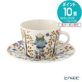 イッタラ (iittala) タイカ ホワイト コーヒーカップ&ソーサー 200cc 食器 北欧 コーヒ—カップ おしゃれ かわいい ブランド 結婚祝い 内祝い