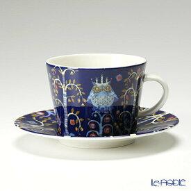 【ポイント10倍】イッタラ (iittala) タイカ ブルー コーヒーカップ&ソーサー 200cc 食器 北欧 コーヒ—カップ おしゃれ かわいい ブランド 結婚祝い 内祝い