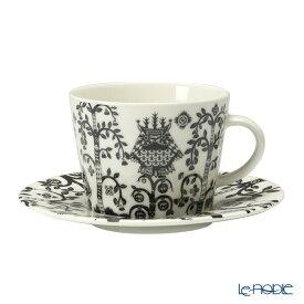 【ポイント10倍】イッタラ (iittala) タイカ ブラック コーヒーカップ&ソーサー 200cc 食器 北欧 コーヒ—カップ おしゃれ かわいい ブランド 結婚祝い 内祝い