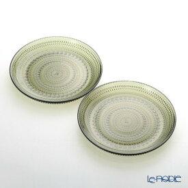 【ポイント10倍】イッタラ (iittala) カステヘルミ プレート 17cm モスグリーン ペア 食器 北欧 皿 お皿 ブランド 結婚祝い 内祝い