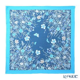 【ポイント10倍】ジムトンプソン シルクスカーフ スクエア PSB80003B メドウフラワーB/スカイブルー/ブルー ジム・トンプソン ギフト フラワー(花柄)