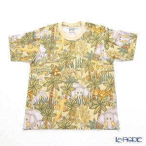 ジムトンプソン 子供服 Tシャツ M(8-11歳) アニマル ジャングル ベージュ ジム・トンプソン ギフト アニマル(動物柄)