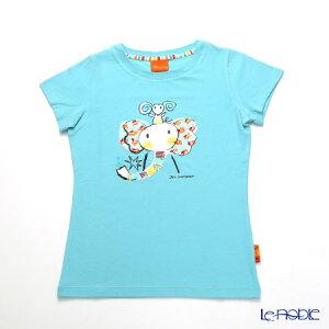 ジムトンプソン 子供服 Tシャツ M(8-11歳) ゾウレインボウ/ターコイズ ジム・トンプソン ギフト