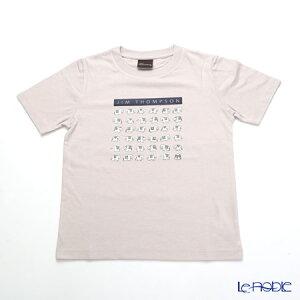ジムトンプソン 子供服 Tシャツ S(4-7歳) ホワイトゾウ36/ライトグレー ジム・トンプソン ギフト