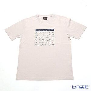 ジムトンプソン 子供服 Tシャツ M(8-11歳) ホワイトゾウ36/ライトグレー ジム・トンプソン ギフト