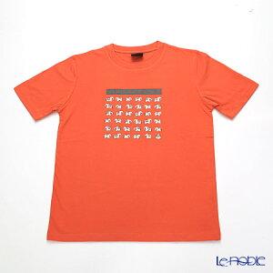 ジムトンプソン 子供服 Tシャツ M(8-11歳) ホワイトゾウ36/オレンジ ジム・トンプソン ギフト
