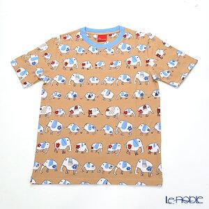 ジムトンプソン 子供服 Tシャツ M(8-11歳) ゾウウォーキング/ベージュ ジム・トンプソン ギフト