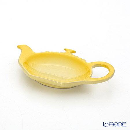 ル・クルーゼ (LeCreuset) ティーバッグトレイ イエロー 12.5cm【楽ギフ_包装選択】【楽ギフ_のし宛書】 ルクルーゼ プレート 皿 食器