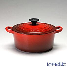 ル・クルーゼ (LeCreuset) ココット・ロンド 18cm チェリーレッド ルクルーゼ 結婚祝い 鍋 お鍋 キッチン 用品 雑貨 調理