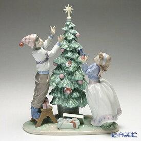 リヤドロ ツリーを飾ろう 05897 リアドロ LLADRO 記念品 クリスマス 置物 オブジェ 人形 フィギュリン インテリア