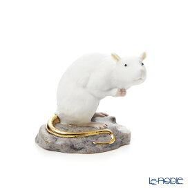 【ポイント10倍】リヤドロ The Rat -小- 09123(7×10cm) リアドロ LLADRO 記念品 干支 置物 オブジェ 人形 フィギュリン インテリア