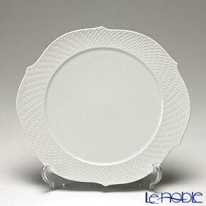 マイセン (Meissen) 波の戯れホワイト 000001/29510 ケーキプラター 26cm【楽ギフ_包装選択】【楽ギフ_のし宛書】 プレート 皿 食器