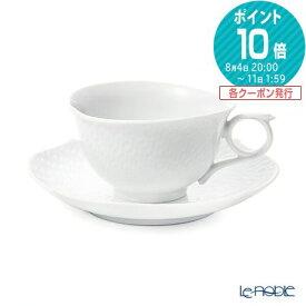 マイセン (Meissen) 波の戯れホワイト 000001/29633 ティーカップ&ソーサー 170cc 白 おしゃれ かわいい 食器 ブランド 結婚祝い 内祝い