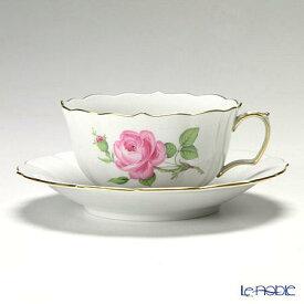 【ポイント19倍】マイセン (Meissen) ピンクのバラ 020110/00633 ティーカップ&ソーサー 150cc おしゃれ かわいい 食器 ブランド 結婚祝い 内祝い