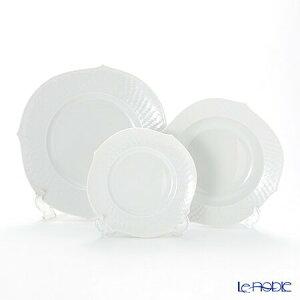 マイセン (Meissen) 波の戯れホワイト プレートセット 白 食器セット お祝い 結婚祝い ブランド 内祝い