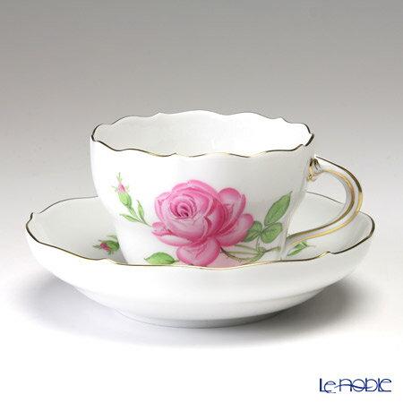 マイセン (Meissen) ピンクのバラ 020110/00582 コーヒーカップ&ソーサー 200cc【楽ギフ_包装選択】【楽ギフ_のし宛書】 ティーカップ 食器