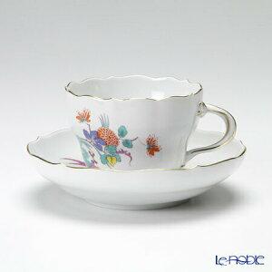 【ポイント10倍】マイセン (Meissen) インドの花と蝶 395110/00582 コーヒーカップ&ソーサー 200cc シノワズリ ティーカップ おしゃれ かわいい 食器 ブランド 結婚祝い 内祝い