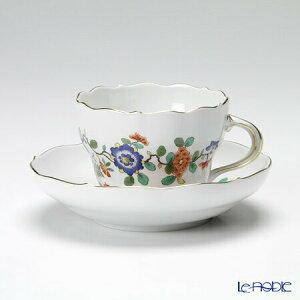 【ポイント10倍】マイセン (Meissen) インドの花と鳥 396110/00582 コーヒーカップ&ソーサー 200cc シノワズリ ティーカップ おしゃれ かわいい 食器 ブランド 結婚祝い 内祝い