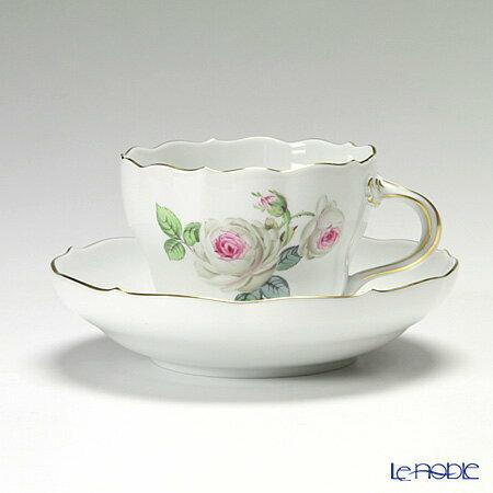 マイセン (Meissen) ホワイトローズ 029510/00582 コーヒーカップ&ソーサー 200cc【楽ギフ_包装選択】【楽ギフ_のし宛書】【楽ギフ_名入れ】 ティーカップ 食器