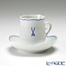 【ポイント19倍】マイセン (Meissen) ホワイトマイセン(VIP) 825009/23581 モカカップ&ソーサー ホワイトマイセン(VIP) 白 食器 ブランド 結婚祝い 内祝い