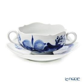 マイセン (Meissen) ブルーオーキッド 824001/23655 スープカップ&ソーサー 食器 ブランド 結婚祝い 内祝い