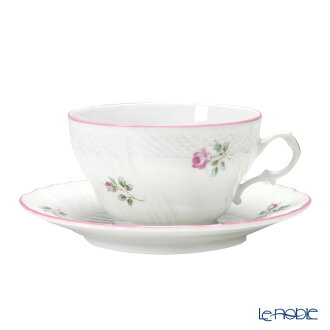 Richardsinori (理查德 · 吉诺里陶器) 玫瑰绿茶杯 & 碟 240 cc